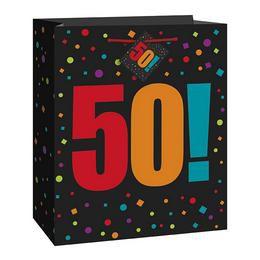 50-es Birthday Cheer Ajándéktasak Szülinapra