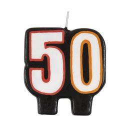 50-es Birthday Cheer Szülinapi Parti Számgyertya