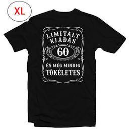60-as Limitált Kiadás Számos Szülinapi Póló, XL-es