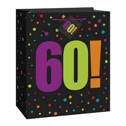 60-as Birthday Cheer Ajándéktasak Szülinapra