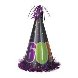 60-as Birthday Cheer Születésnapi Parti Nagy Papír Csákó