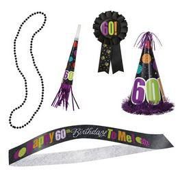 60-as Birthday Cheer Születésnapi Parti Szett
