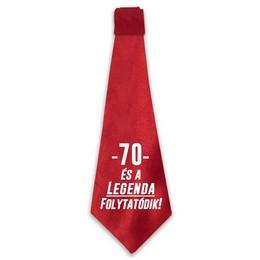 70 és a Legenda Folytatódik! Születésnapi Nyakkendő