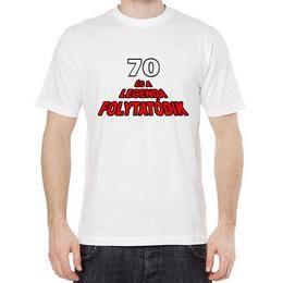 Vicces Póló - 70 Éves És A Legenda Folytatódik - Szülinapra, XL-es