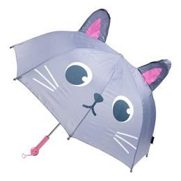 Állatos Zenélő Esernyő Gyerekeknek - Macska