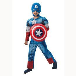 Amerika Kapitány - Captain America Jelmez Gyerekeknek, M-es