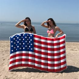 Amerikai Zászló Óriás Gumimatrac