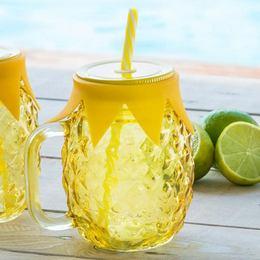 Ananász Befőttes Üveg Koktél Pohár