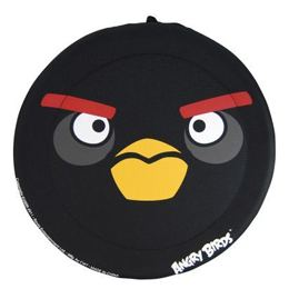 Angry Birds - Fekete Madár Frizbi - 33 cm-es