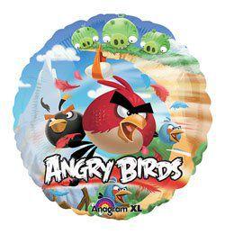 18 inch-es Angry Birds Héliumos Fólia Lufi