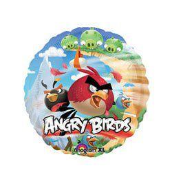 9 inch-es Angry Birds Fólia Lufi Pálcán