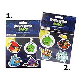 Angry Birds Space Mágnes szett - 4 db-os, 2 féle