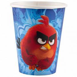 Angry Birds Movie Papír Parti Pohár - 226 ml, 8 db-os