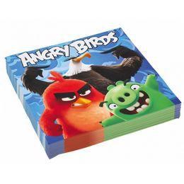 Angry Birds Movie Papír Parti Szalvéta - 33 cm x 33 cm, 20 db-os