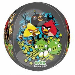 Angry Birds Gömb Fólia Lufi