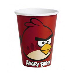Angry Birds Parti Pohár - 266 ml, 8 db-os