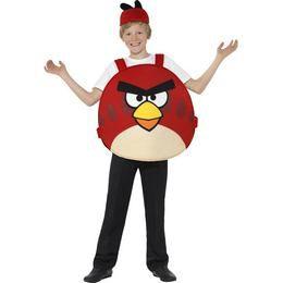 Angry Birds Piros Madár Gyerek Jelmez, L