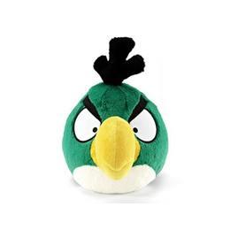 Angry Birds - Zöld Plüss Tukán Madár Csivitelő Hanggal - 13 cm-es