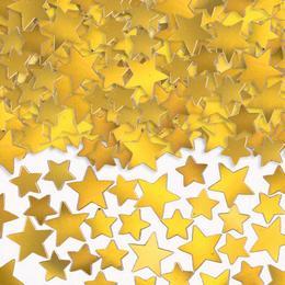 Arany Csillag Alakú Fólia Parti Konfetti - 141 gramm