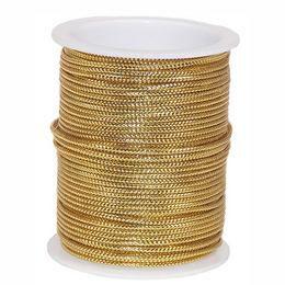 Arany Díszítő Kötöző Szalag - 10 m
