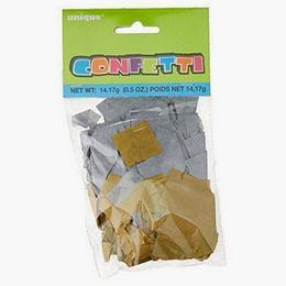 Arany-Ezüst Papír Konfetti - 14 gramm