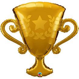 39 inch-es Golden Trophy Fólia Lufi