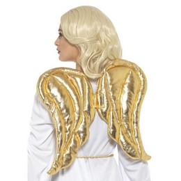 Arany Színű Angyalszárny, 50 cm x 40 cm