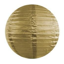 Arany Színű Parti Gömb Lampion
