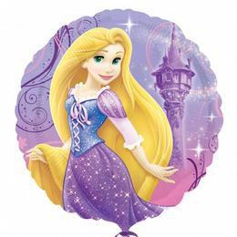 18 inch-es Rapunzel - Aranyhaj Héliumos Fólia Lufi