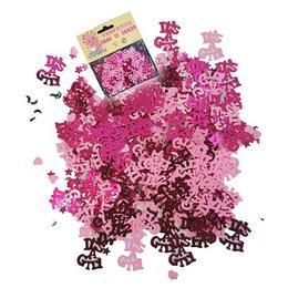 Babaszületésre Kislányos Pink Konfetti - 14 gramm