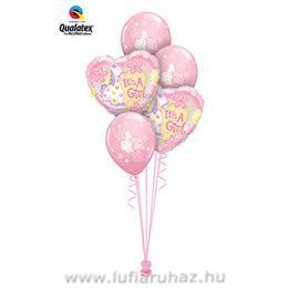 Ajándék és Léggömb-dekoráció Babaszületésre - Soft Pony