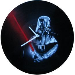Bakelit Lemez Falióra - Darth Vader