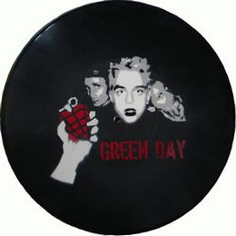 Bakelit Lemez Falióra - Green Day