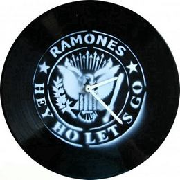 Bakelit Lemez Falióra - The Ramones - Hey! Oh! Let's GO!