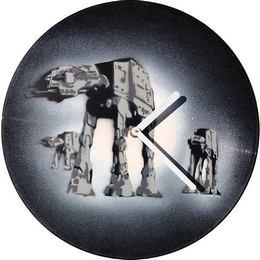Bakelit Lemez Falióra - Star Wars Birodalmi Lépegetők