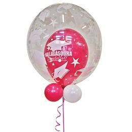Ballagásodra Szeretettel Pink Lufiban a Lufi