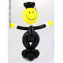Ajándék és Dekoráció Ballagásra - Black Grad Smile