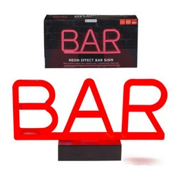 Bar Feliratú Neon Lámpa