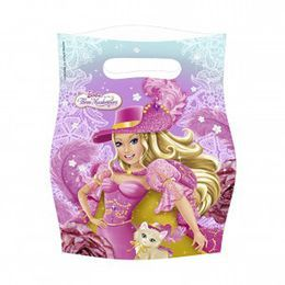Barbie, A Három Muskétás - Parti Ajándékzacskó - 6 db-os