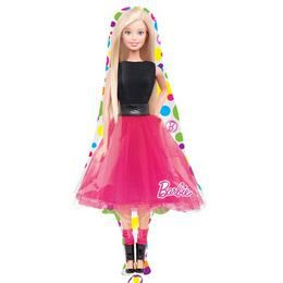 Barbie Sparkle Mini Shape Fólia Lufi Pálcán