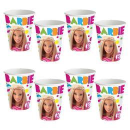 Barbie Sparkle Papír Parti Pohár - 226 ml, 8 db-os