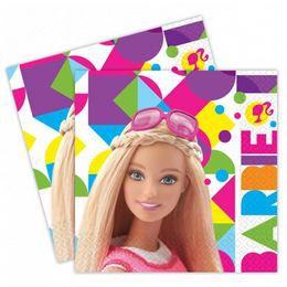 Barbie Sparkle Parti Szalvéta, 20 db, 33 cm x 33 cm