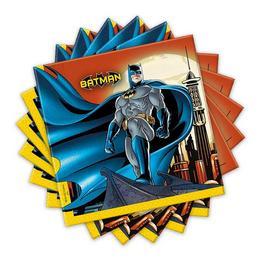 Batman Dark Hero Parti Szalvéta - 33 cm x 33 cm, 20 db-os