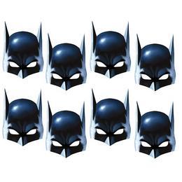 Batman Karton Maszk, 8 db