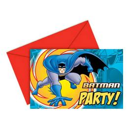Batman Szülinapi Meghívó