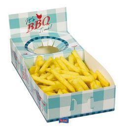 BBQ Papír Parti Snack Box - 4 db-os
