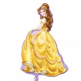 Belle (Szépség) Super Shape Héliumos Fólia Lufi