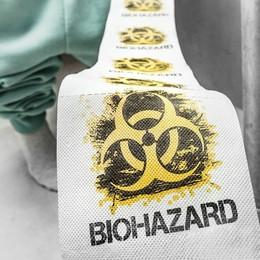 Biohazard Mintás WC Papír