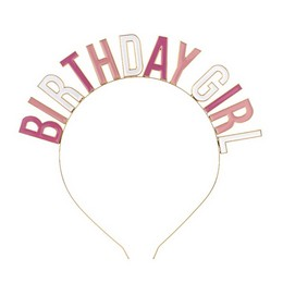 Birthday Girl Feliratú Fejpánt Szülinapra