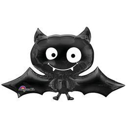 Black Bat - Denevér Mini Shape Fólia Lufi Pálcán